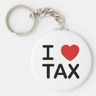 私は税を愛します キーホルダー