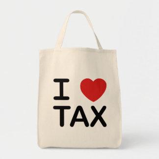 私は税を愛します トートバッグ