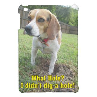 私は穴を掘りませんでした! ビーグル犬 iPad MINIケース
