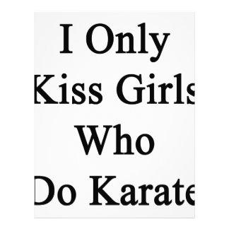 私は空手をする女の子だけに接吻します レターヘッド