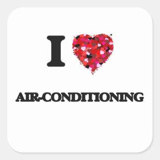 私は空気調節を愛します スクエアシール