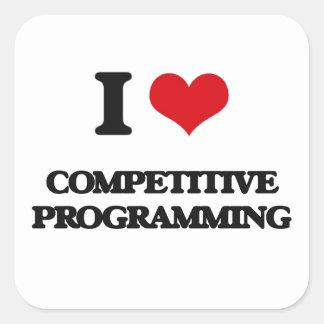 私は競争のプログラミングを愛します スクエアシール