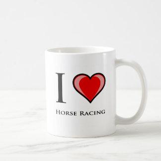 私は競馬を愛します コーヒーマグカップ