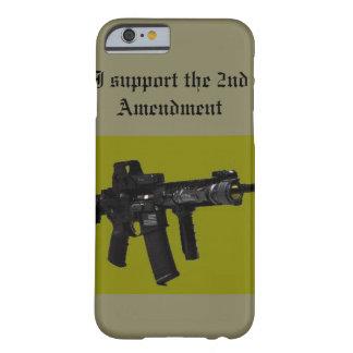 私は第2修正を支えます BARELY THERE iPhone 6 ケース