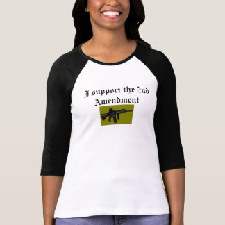 私は第2修正を支えます Tシャツ