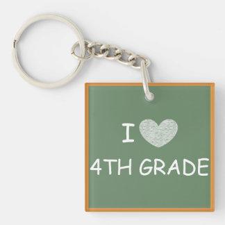 私は第4等級を愛します キーホルダー