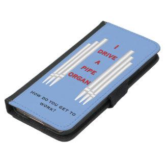 私は管器官の銀河系の札入れの青を運転します GALAXY S5 ウォレットケース