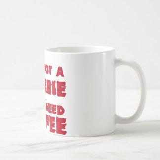 私は米国のカスタムインクによってゾンビ行いません コーヒーマグカップ