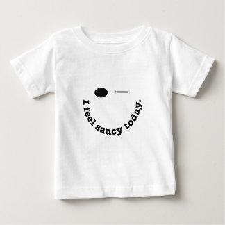 私は粋今日感じます ベビーTシャツ
