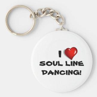 私は精神のラインダンス愛します! キーホルダー