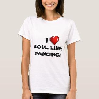 私は精神のラインダンス愛します! Tシャツ