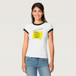 私は素晴らしいポスト・イットです Tシャツ