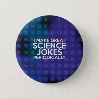 私は素晴らしい科学の冗談を周期的に作ります 5.7CM 丸型バッジ
