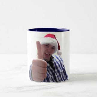私は素晴らしマグです ツートーンマグカップ