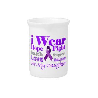 私は紫色を身に着けています-私の娘に癲癇があります ピッチャー