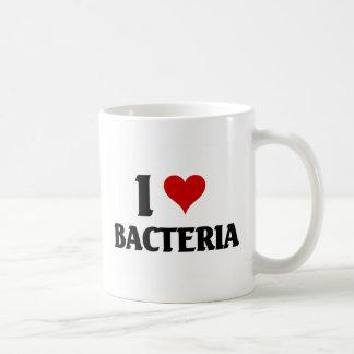 私は細菌を愛します コーヒーマグカップ