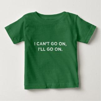 私は続きます ベビーTシャツ
