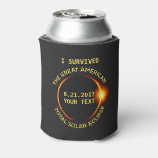 私は総日食8.21.2017米国を生き延びました 缶クーラー