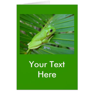私は緑です カード