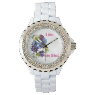 私は美しい花の断言です 腕時計