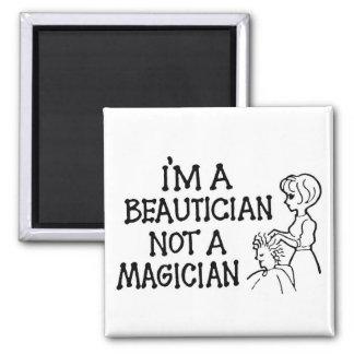 私は美容師ない手品師の磁石です マグネット