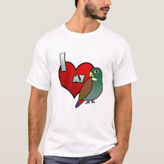 私は翼のPionusの私の青銅色の女性によって破壊されるティーを愛します Tシャツ