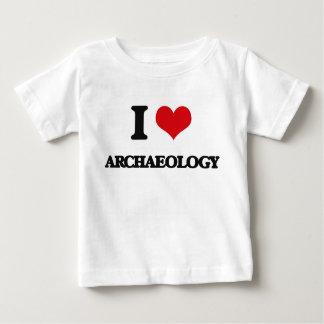 私は考古学を愛します ベビーTシャツ