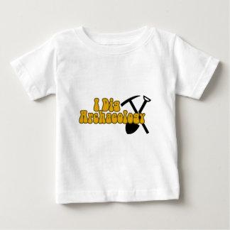 私は考古学を掘ります ベビーTシャツ