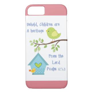 私は聖書の詩の賛美歌127 3が付いている6カバーに電話をかけます iPhone 8/7ケース