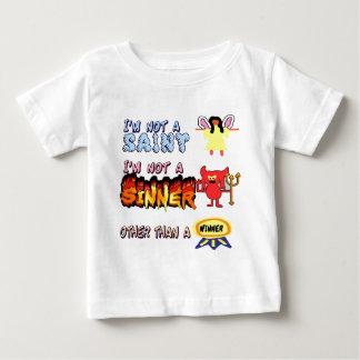 私は聖者または罪人ではないです ベビーTシャツ