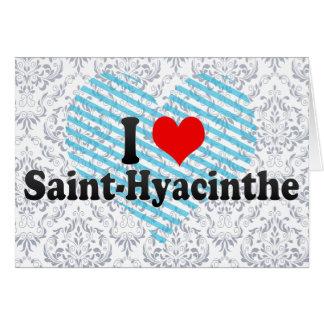 私は聖者Hyacinthe、カナダを愛します カード