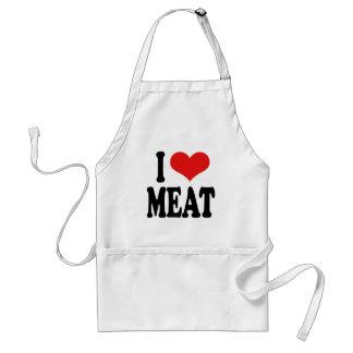 私は肉を愛します スタンダードエプロン