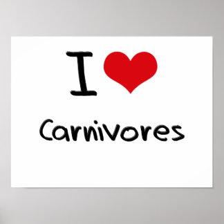私は肉食獣を愛します ポスター
