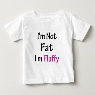 私は脂肪質私柔らかいですではないです ベビーTシャツ