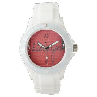私は腕時計愛します 腕時計