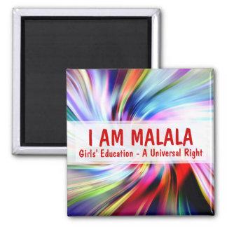 私は自在継手の権利Malalaの女の子の教育です マグネット