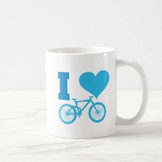 私は自転車を愛します コーヒーマグカップ