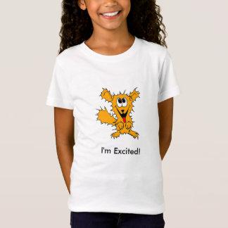 私は興奮します! Tシャツ