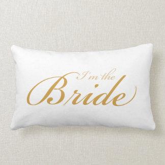 私は花嫁です-私は枕を結婚しています ランバークッション