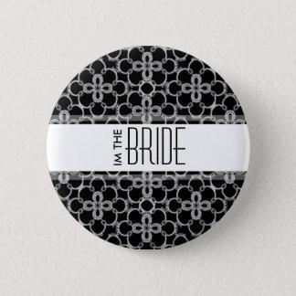 私は花嫁の結婚式ボタンです 5.7CM 丸型バッジ