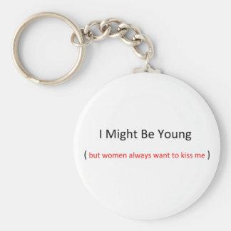 私は若いkeychainであるかもしれません キーホルダー