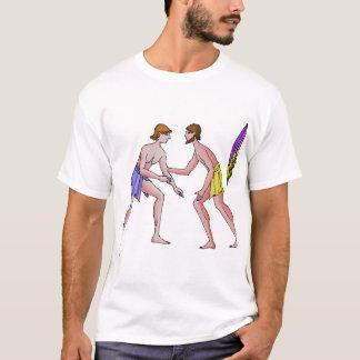 私は苦闘することを愛します Tシャツ