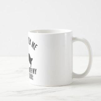 私は英国セッターを愛します コーヒーマグカップ