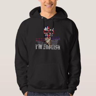 私は英語です パーカ