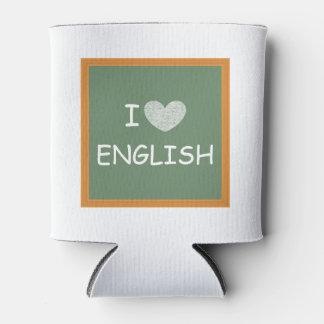 私は英語を愛します 缶クーラー