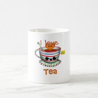 私は茶を愛します コーヒーマグカップ
