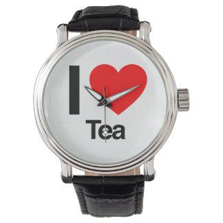 私は茶を愛します 腕時計