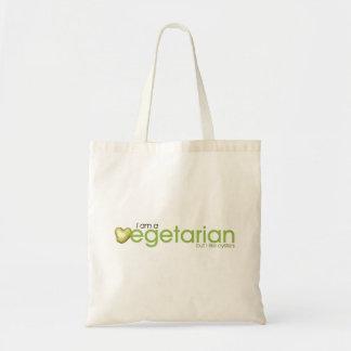 私は菜食主義のポテトのトートバックです トートバッグ