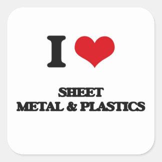 私は薄板金及びプラスチックを愛します スクエアシール
