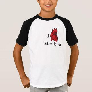 私は薬を愛します Tシャツ